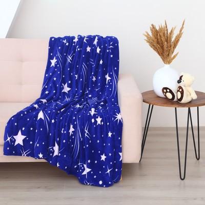 Плед 200х220 см, рисунок «Звёздное небо»