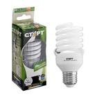 """Лампа энергосберегающая """"Старт"""", E27, 20 Вт, 2700 K, 230 В, теплый  белый"""