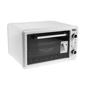 Мини-печь Akel AF-720, 1300 Вт, 36 л, таймер, регулировка температуры, белая