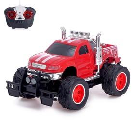 "RC car ""big Foot"", battery powered light"