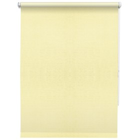Рулонная штора «Шантунг», 100 х 160 см, цвет кремовый