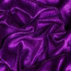Бархат трикотаж 70х80 см, фиолетовый