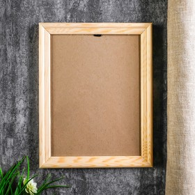 Photo frame with 20 18x24 cm, white wood