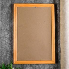 Photo frame with 25х38 20 cm, pine