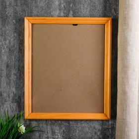 Photo frame with 20 25x30 cm, pine