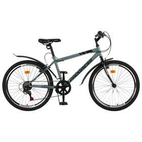 """Велосипед 24"""" Progress модель Highway RUS, цвет серый, размер 15"""""""