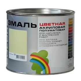 """Эмаль ВДАК-220 """"COLORS"""" бежевый 1,9 л"""