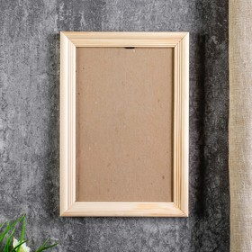 Photo frame with 15х23 20 cm, white wood