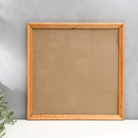 Photo frame with 20 35x35 cm, walnut