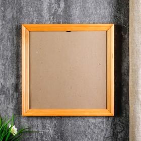 Photo frame with 20 25x25 cm, pine