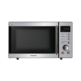 Микроволновая печь Daewoo Electronics KOR-814RT, 800 Вт, 23 л, сребристая