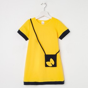 Платье «Сумочка», цвет жёлтый, рост 104 см