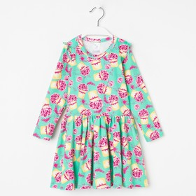 Платье «Парфюм», цвет мятный, рост 104 см