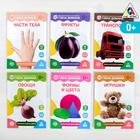 Обучающие карточки по методике Глена Домана размера А5, «МИКС №1»