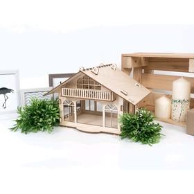 Деревянный конструктор-кормушка «Колибри»