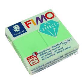 Полимерная глина запекаемая 57г FIMO neon effect, зеленый
