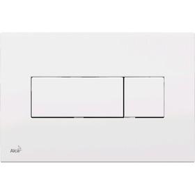 Кнопка управления Alcaplast M370, для скрытых систем инсталляции, белый Ош