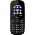 "Сотовый телефон INOI 100 1,8"", microSD, 2 sim, чёрный"