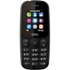 "Сотовый телефон INOI 101 1,8"", microSD, 2 sim, чёрный"