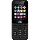 "Сотовый телефон INOI 241 2,4"", microSD, 0,3МП, 2 sim, чёрный"