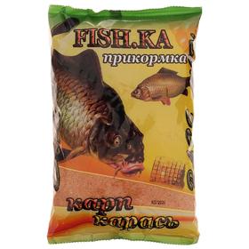 Прикормка Fishka карп/карась BASE MiX, 700 г