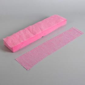 Набор одноразовых воротничков, без липкого слоя, 7 × 40 см, 100 шт, цвет розовый