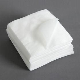 Салфетки косметические, 10 × 10 см, 100 шт