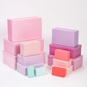 Набор коробок подарочных 15 в 1 «Нежность», 12 х 7 х 4 см - 46,6 х 35,2 х 17.5 см