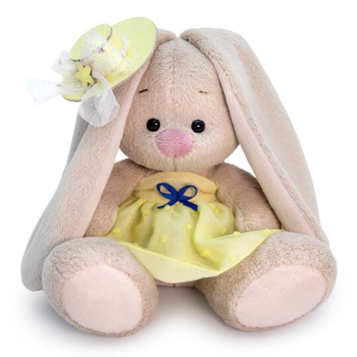 Мягкая игрушка «Зайка Ми», в жёлтом сарафане, 15 см - фото 105616143