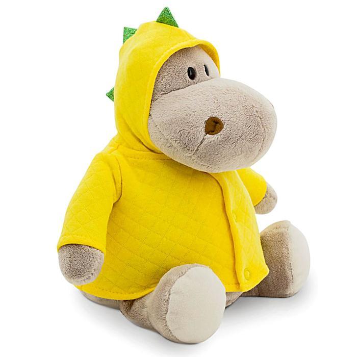 Мягкая игрушка «Бегемот. Динозаврик», 20 см - фото 1059302