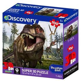 3D puzzle 100 El. T-Rex 13721