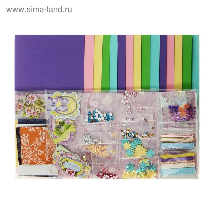 "Набор для творчества ""Бабочки/Цветочки"": 15 открыток, 15 конвертов"