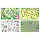 Игра развивающая «Найди и покажи. Мир вокруг», 4 ламинированных поля - фото 105496876