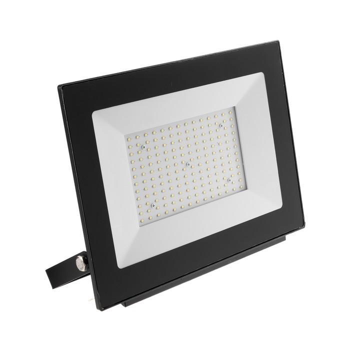 Прожектор светодиодный Uniel, 150 Вт, 15000 Лм, 4000 К, IP65, 120°, черный