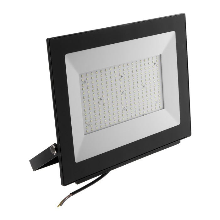 Прожектор светодиодный Uniel, 200 Вт, 20000 Лм, 4000 К, IP65, 120°, черный