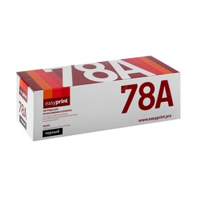 Картридж EasyPrint CE278A/Canon 728 (LC-728) для HP и Canon (2100k), черный