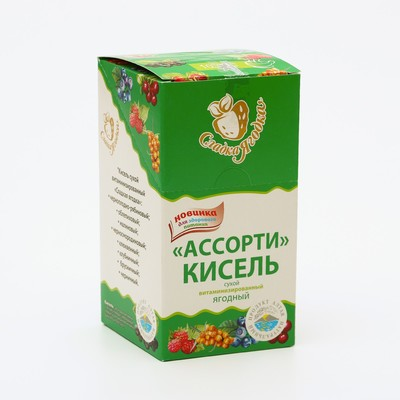 "Kissel-dry vitaminized ""Sweet pea"" Assorted 200 g"
