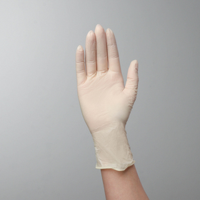 Перчатки Top Glove смотровые, нестерильные, латексные, неопудренные, размер M