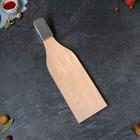 Доска для чистки рыбы с зажимом, 48 х 14см, массив бука - фото 1306818