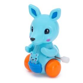 Заводная игрушка «Кенгуру», цвета МИКС