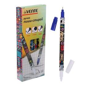 """Ручка """"Пиши-Стирай"""" капилярная deVENTE синяя 0.5мм и 3мм"""