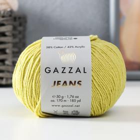 "Пряжа ""Jeans-GZ"" 58% хлопок, 42% акрил 170м/50гр (1126)"
