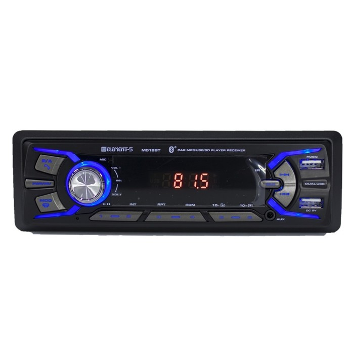 Автомагнитола Element-5 518BT, Bluetooth