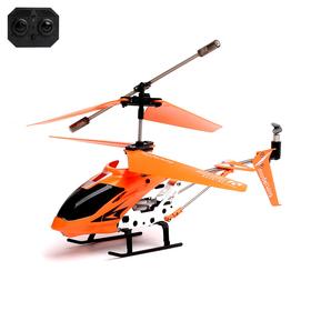 Вертолет радиоуправляемый с гироскопом, цвета МИКС