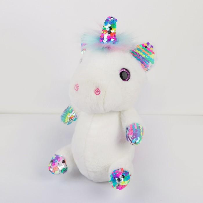 Мягкая игрушка «Единорог», цвета МИКС - фото 105610316