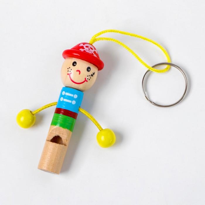 """Деревянная игрушка  Свисток """"Человечек"""", в асс. 71200"""