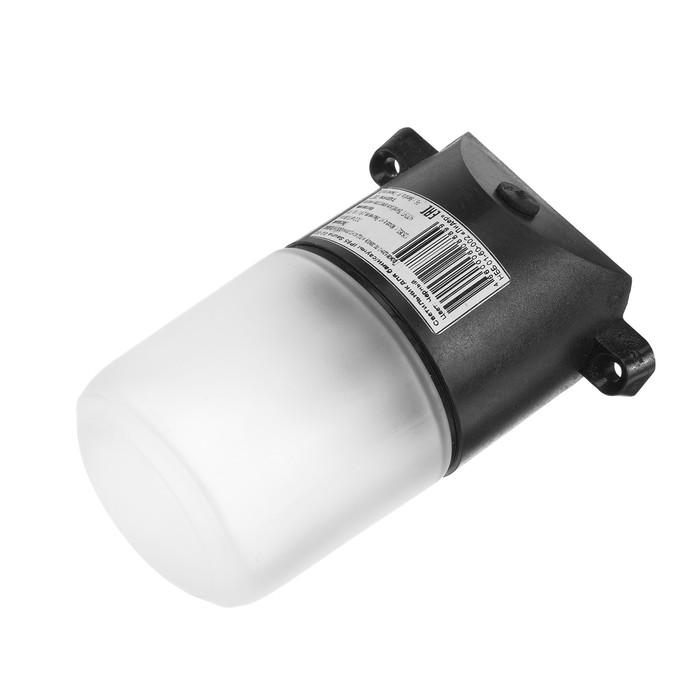 Светильник для бани/сауны ITALMAC Sauna 02 02, 60Вт, IP65, Е27, наклонный, черный +125°C