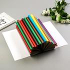 """Цветная бумага  """"Узор"""" волшебная набор 18шт, А4, 50 гр/м2"""