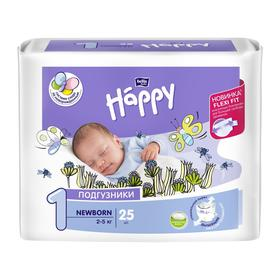 Подгузники Bella baby Happy Newborn (2-5 кг), 25 шт