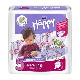 Подгузники Bella baby Happy Junior (12-25 кг), 10 шт
